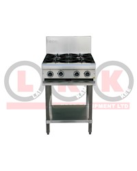 4 GAS OPEN BURNER COOKTOP WITH LEGS