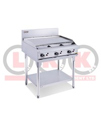 900mm GAS GRIDDLE WITH LEGS