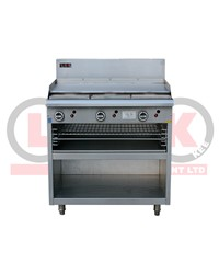 900mm GAS GRIDDLE + TOASTER