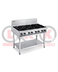 8 GAS OPEN BURNER COOKTOP WITH LEGS